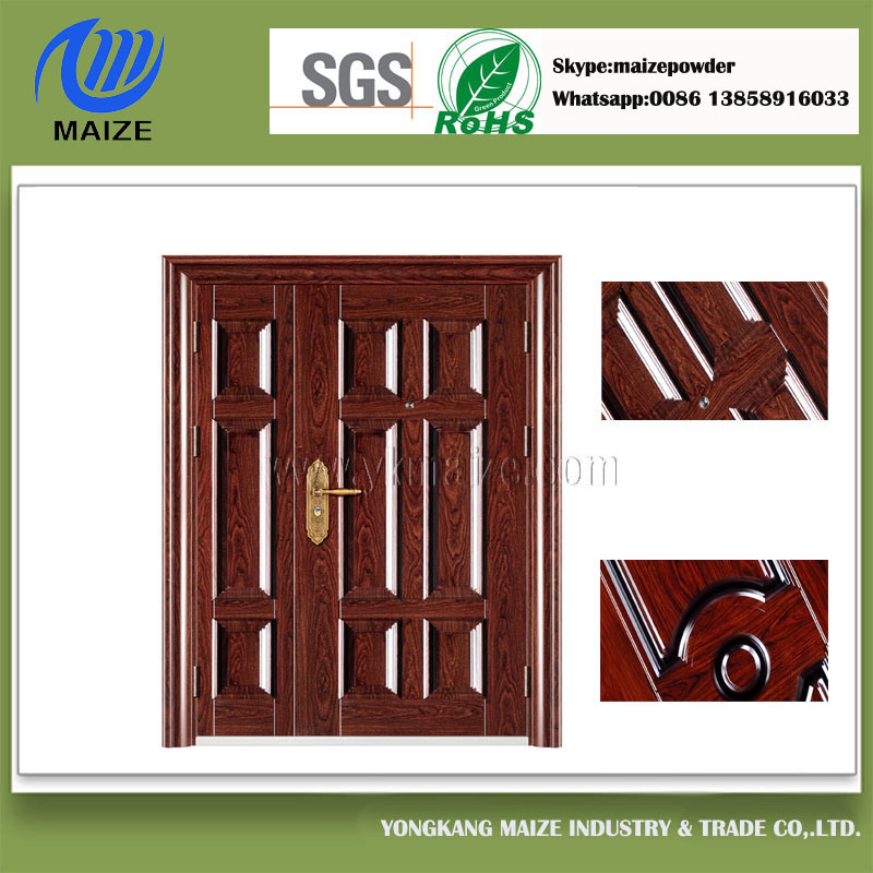 Customized Grained Wood Powder Coating Applied by Heat Transfer