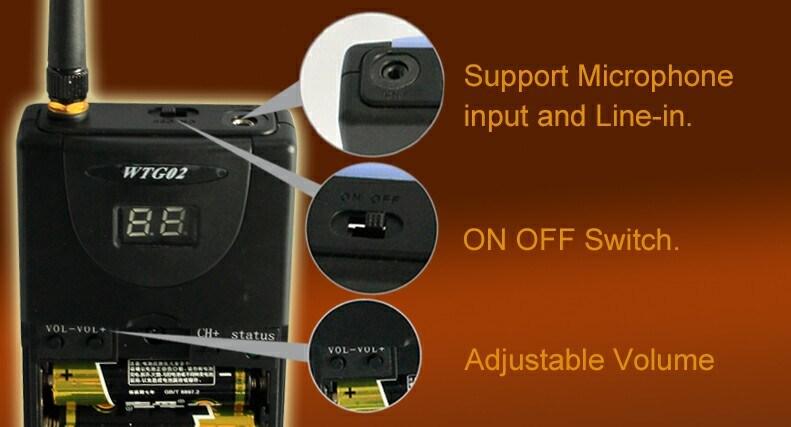 Wireless Whisper Tour Guide (movable Simultaneous Interpretation) Soyo-Wtg02