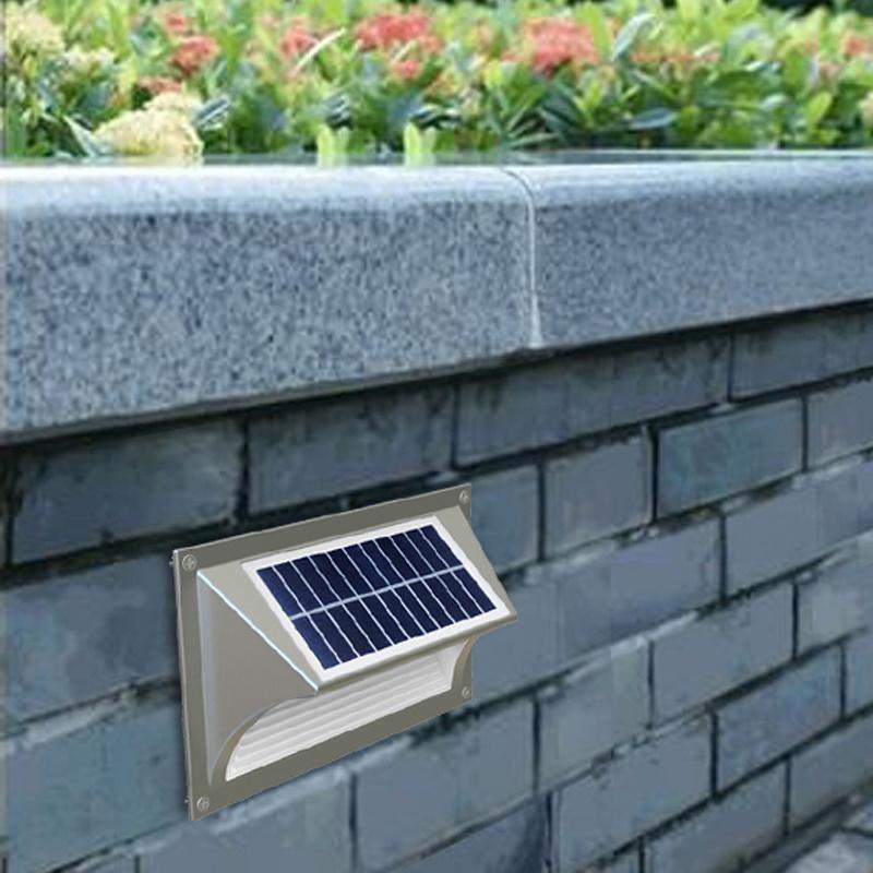 IP65 Solar Lights for Outdoor Garden Wall Step Light