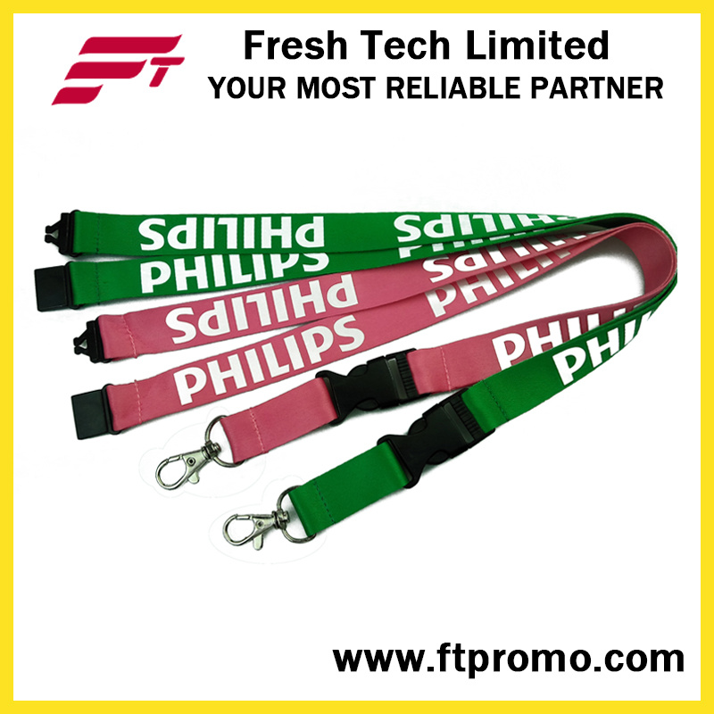 OEM Cheap Business Style Polyester Lanyard