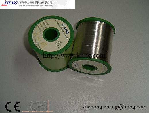 SGS/Ce Best Lead Free Solder Wire for Welding Robots