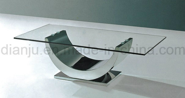 Modern Home Furniture Stainless Steel Coffee Table (CT029#)