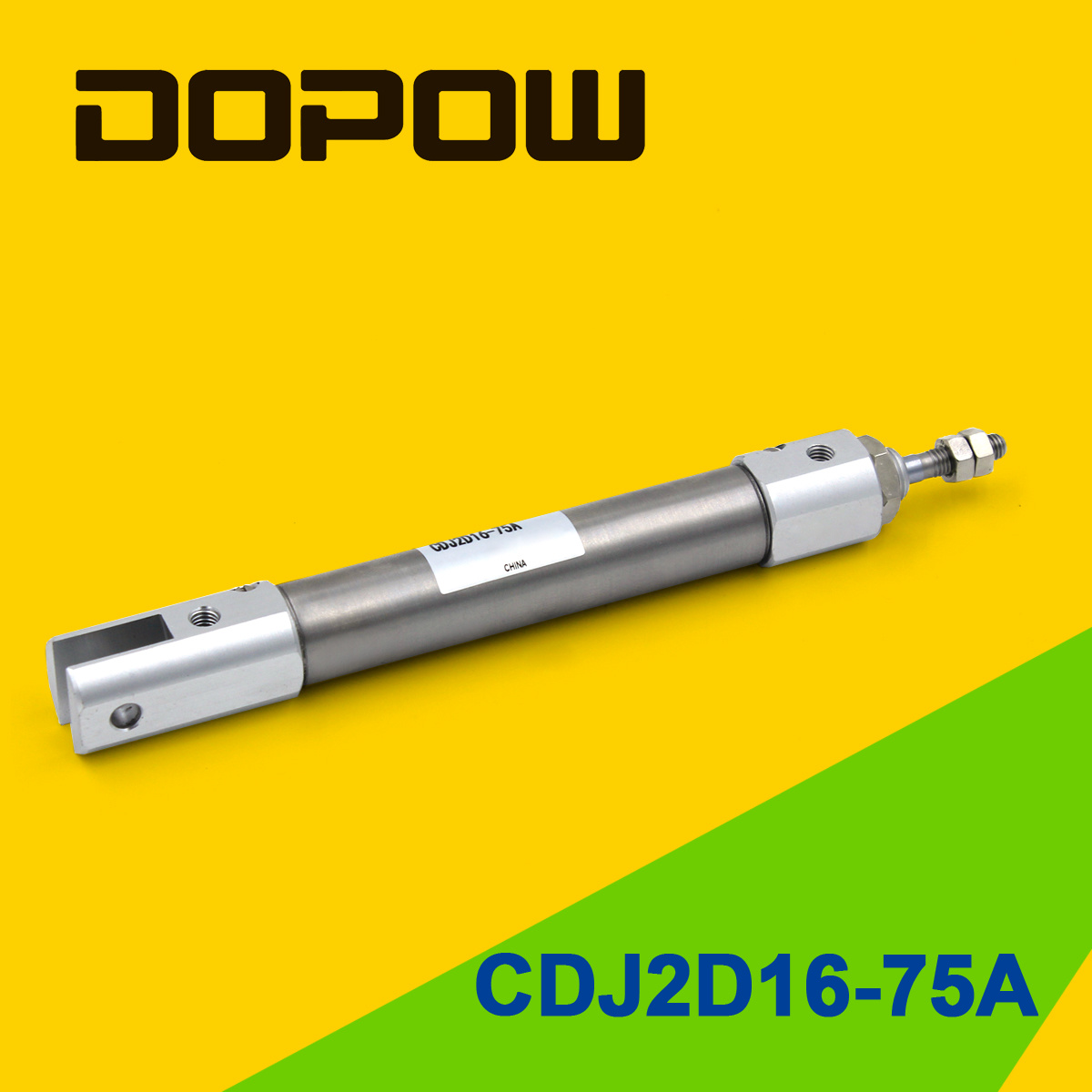 Dopow CDJ2d16-75A Stainless Mini Air Cylinder