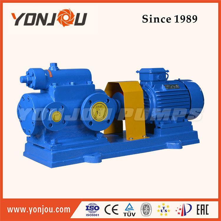 Yonjou Brand Electric Twin& Three Screw Pump, Bitumen Pump, Crude Oil Pump, Mono Screw Pump