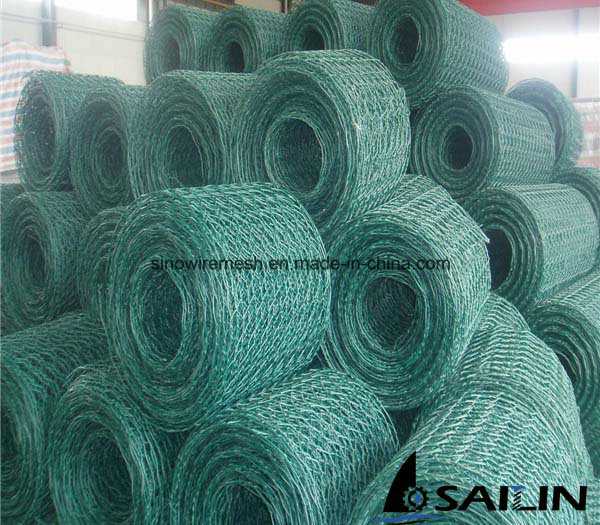 PVC Coated Hexagonal Wire Netting for Building Material with SGS