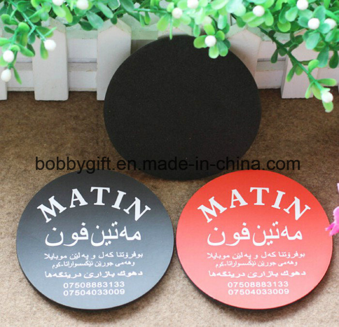Custom Novelty Cup Non Skid Mat EVA Coasters Factory