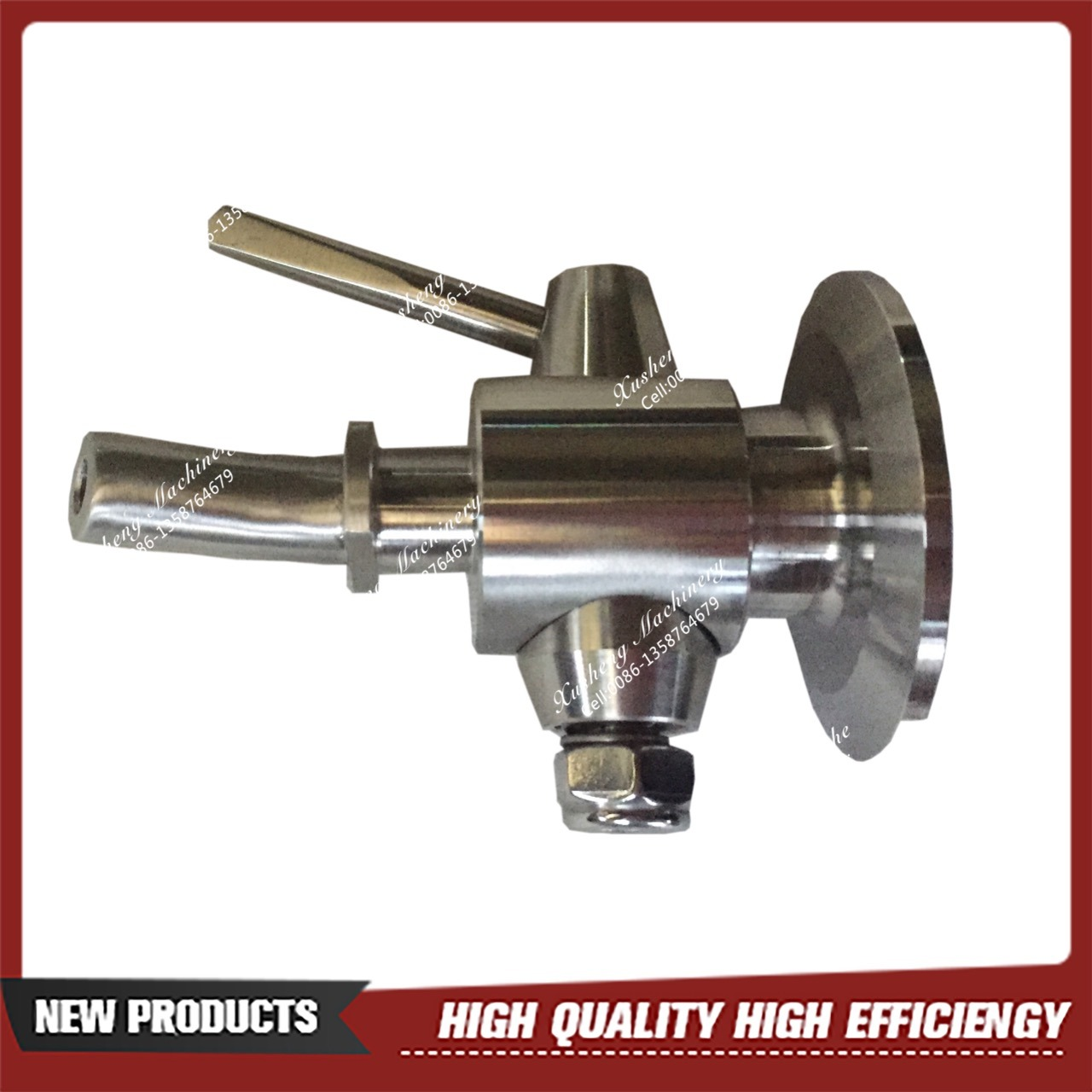 "1-1/2"" Tri-Clamp Perlick Style Sample Valve"