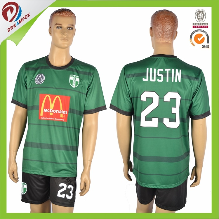 Customized Thai Quality Football Shirt Maker Soccer Jersey