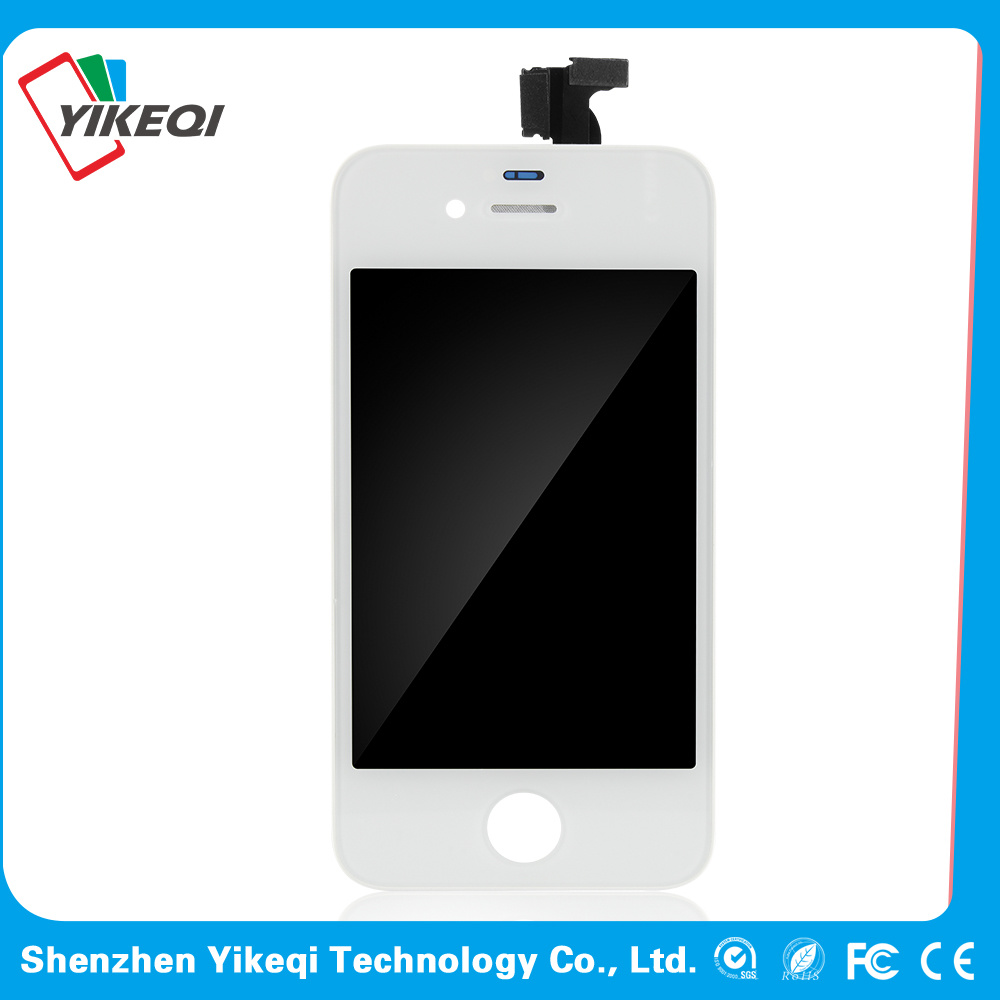 After Market Black/White Mobile Phone LCD for iPhone 4 CDMA