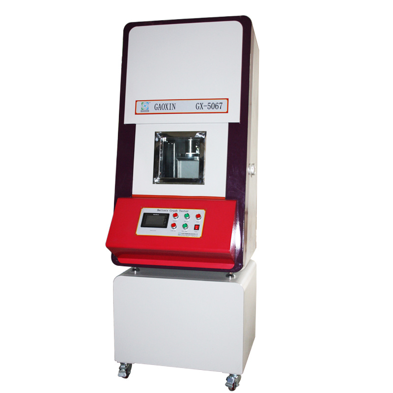Un38.3 IEC/En 62133 Servo Motor Controlled Battery Crush Testing Machine