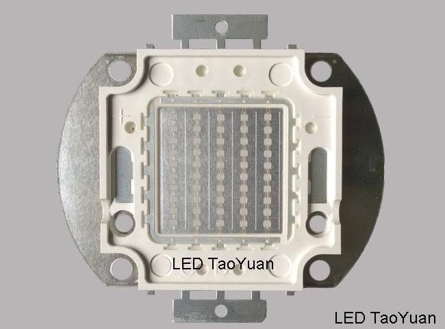 UV LED 375nm 395nm 405nm 100W, High Power UV LED