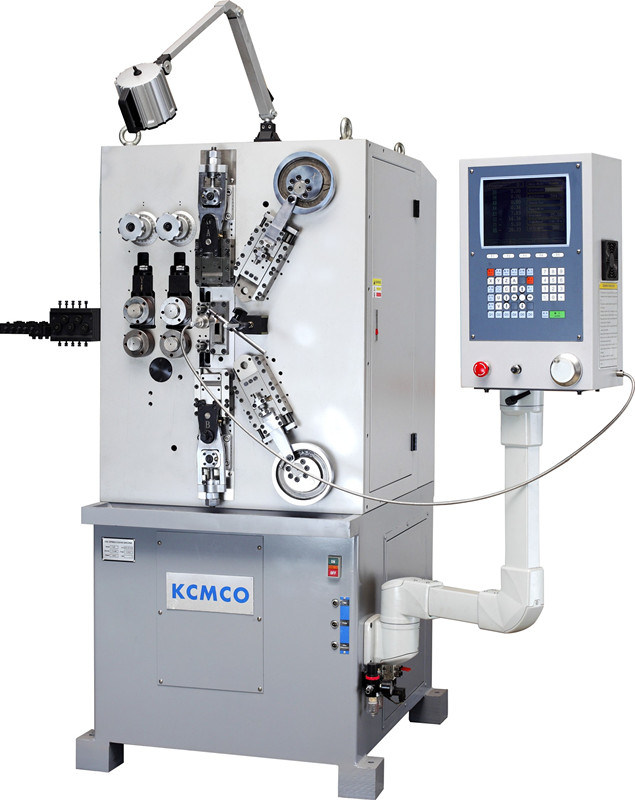 KCMCO-KCT-826 1-2.6mm 8 Axis High Speed CNC Compression Spring Coiling Machine&Spring Coiler