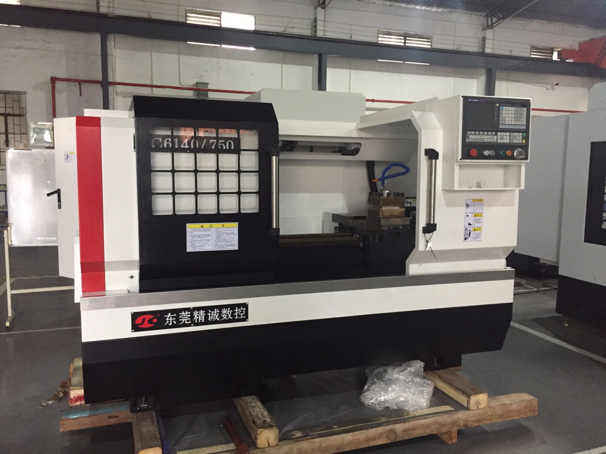 Jc 6140-750 Flat Bed CNC Lathe