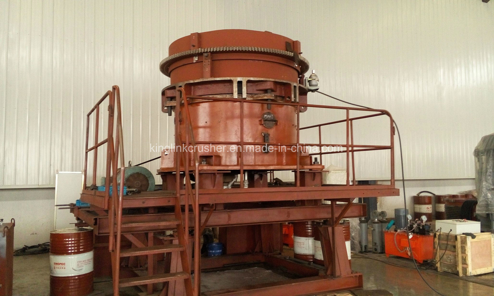 HP Series Multi Cylinder Hydraulic Cone Crusher