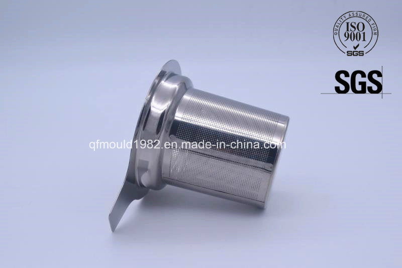 Stainless Steel Mesh Tea Infuser with Silicone Lid