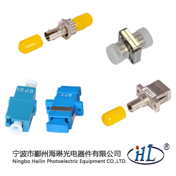 Fiber Optics Suppliers Sc Type Fiber Optic Fixed Attenuator 1-20dB