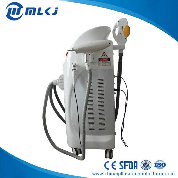 Multi-Functional Beauty Equipment Q Switched ND YAG Laser with Elight/IPL Shr RF