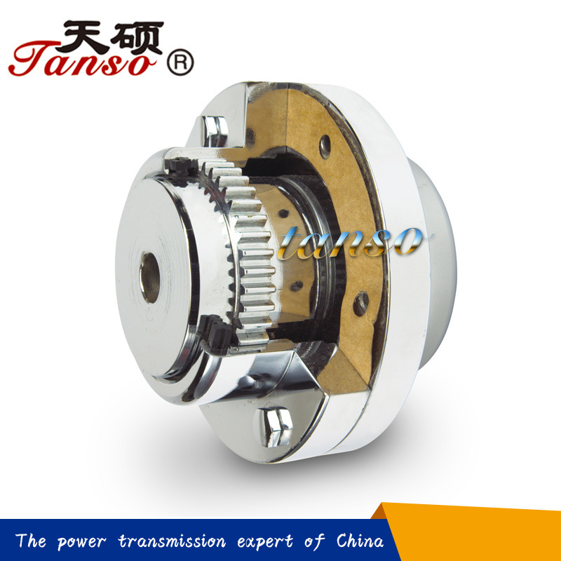 High Transmission Efficiency Curved Tooth Gear Coupling