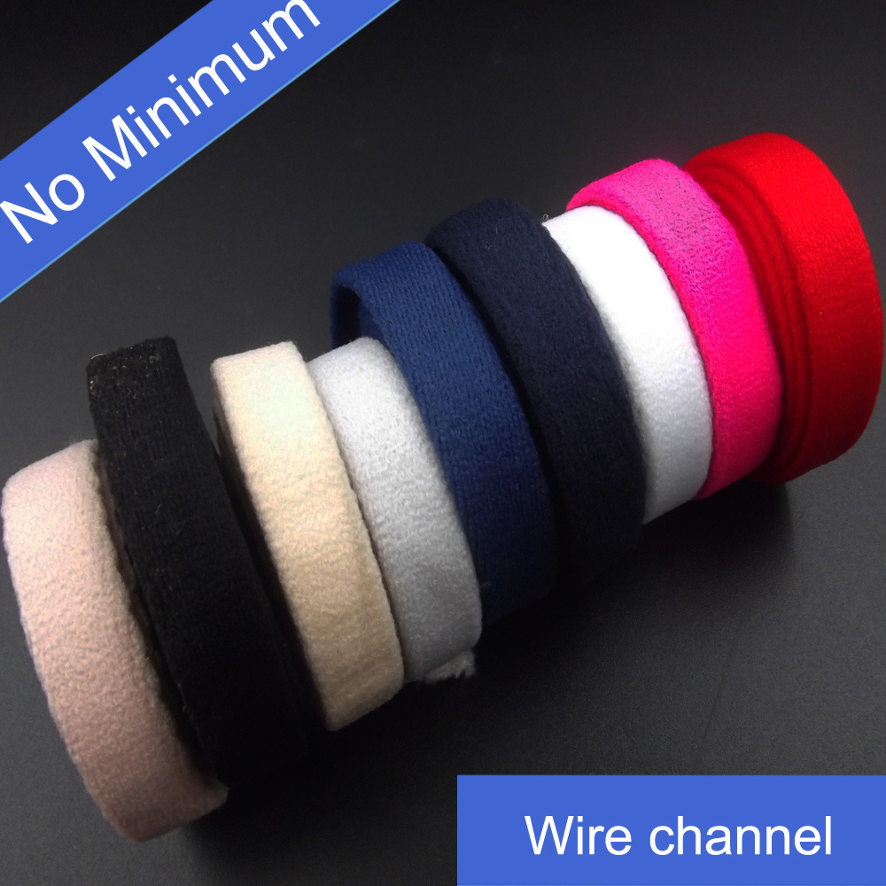 No Minimum Bra Custom Wire Channel