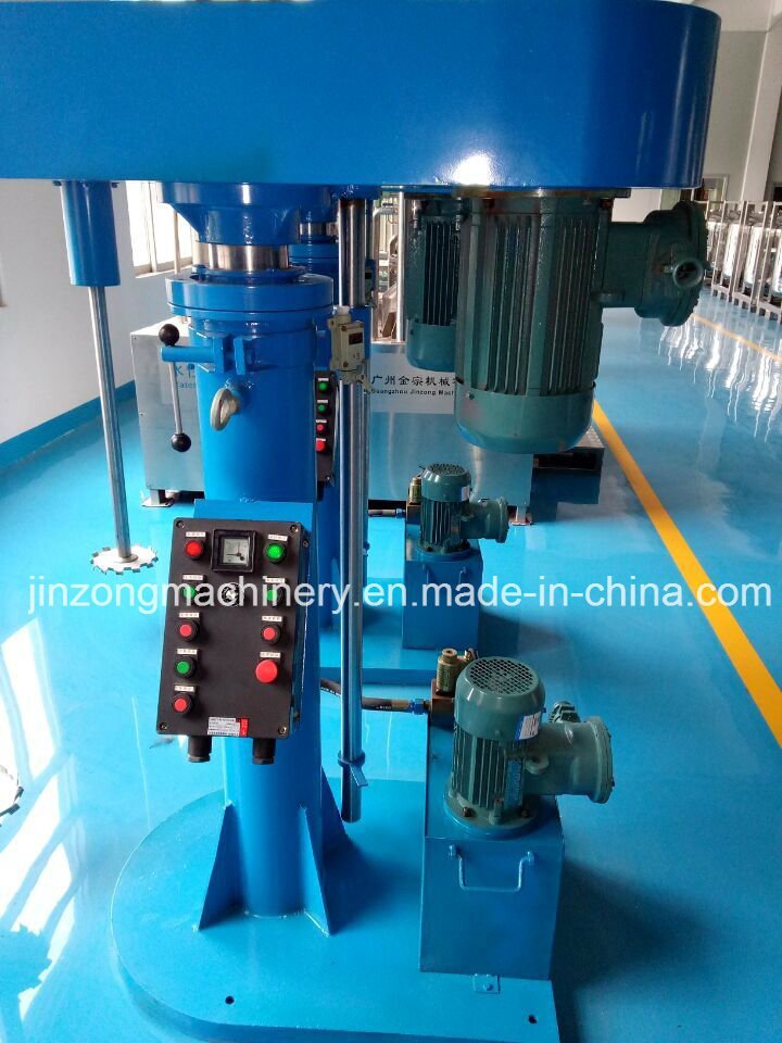 High Speed Disperser for Pigment Paint Hydraulic Lifting
