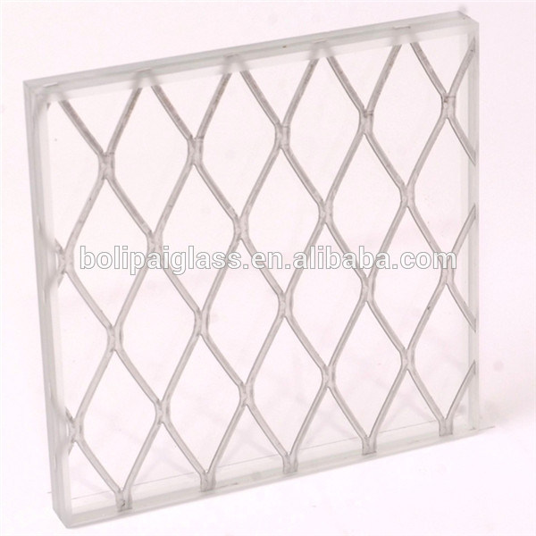 Rhombus Decorative Design Art Laminated Glass