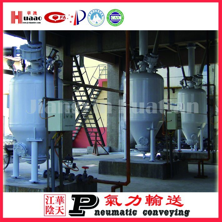 Power Plant Ash Library System and Pneumatic Conveying