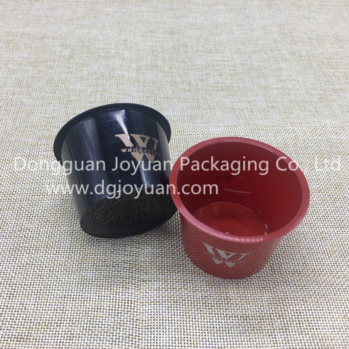 PP Flowerpot Mini Plastic Cake Cup