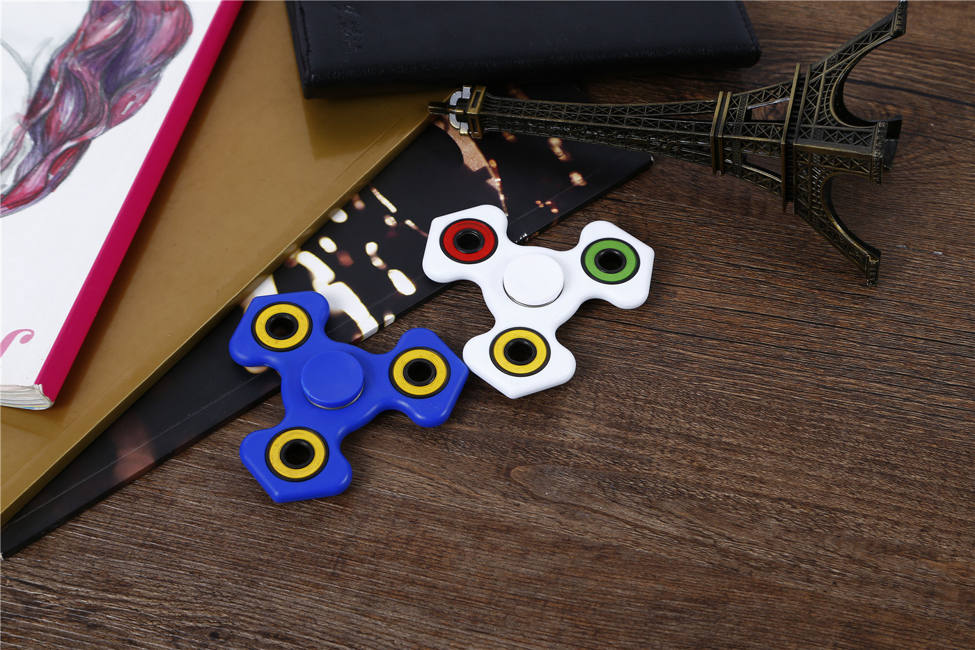 New Spinner Anti Stress Hand Spinner Toy, Spinning More Than Two Munites Small Finger Toy