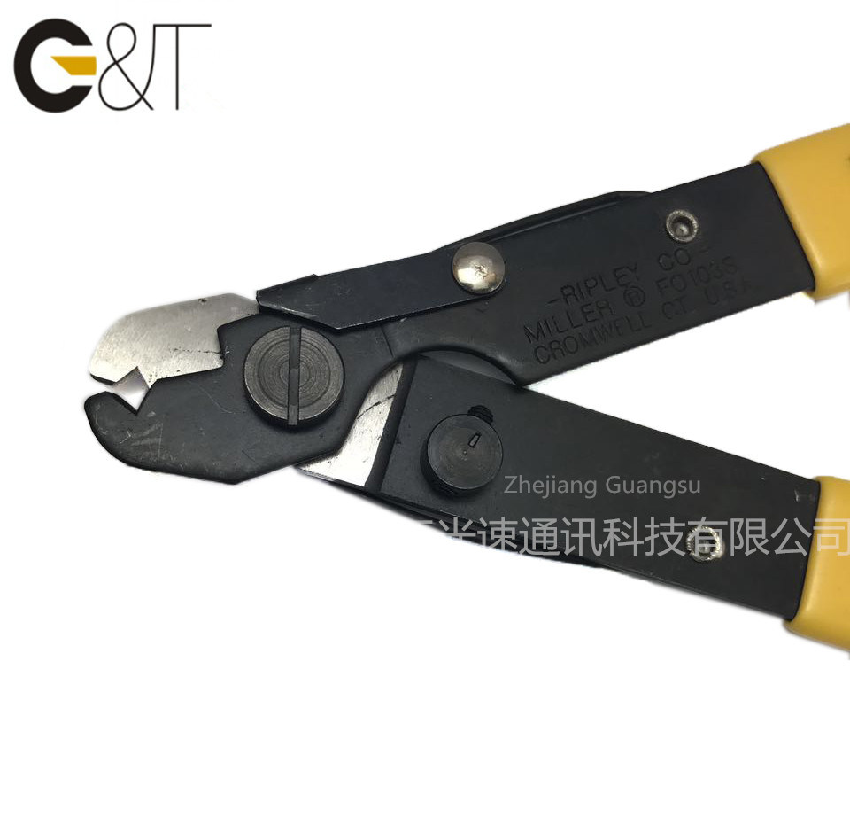1 Hole Fiber Stripper, Fiber Optic Stripper Miller (FO103-S) , Cable Stripper