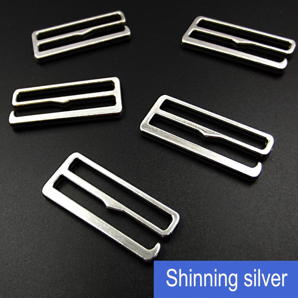 Clothing 30mm Silver Metal Hook, Swimwear Detachable Hook Slider
