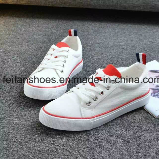 Classic Students Vulcanized Canvas Shoes Casual Rubber Shoes (FF1027-02)