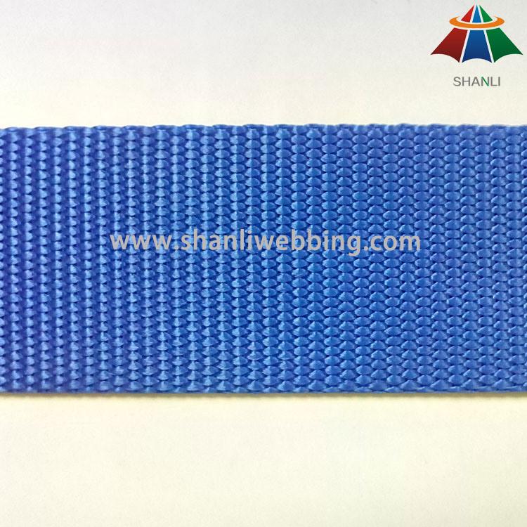 1.5 Inch (38mm) Bright Red Blue Flat Nylon Webbing for Shoulder Straps