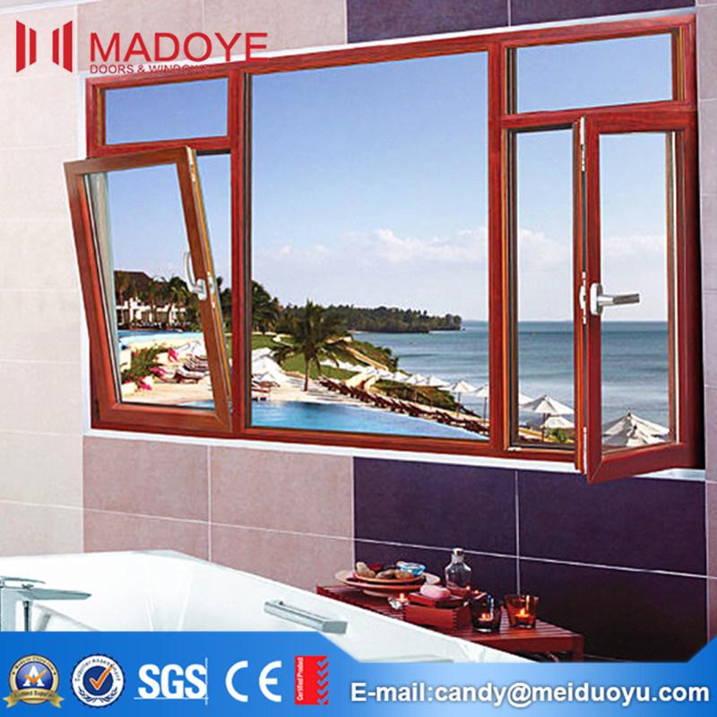 Aluminium Alloy Tempered Glass Casement Window