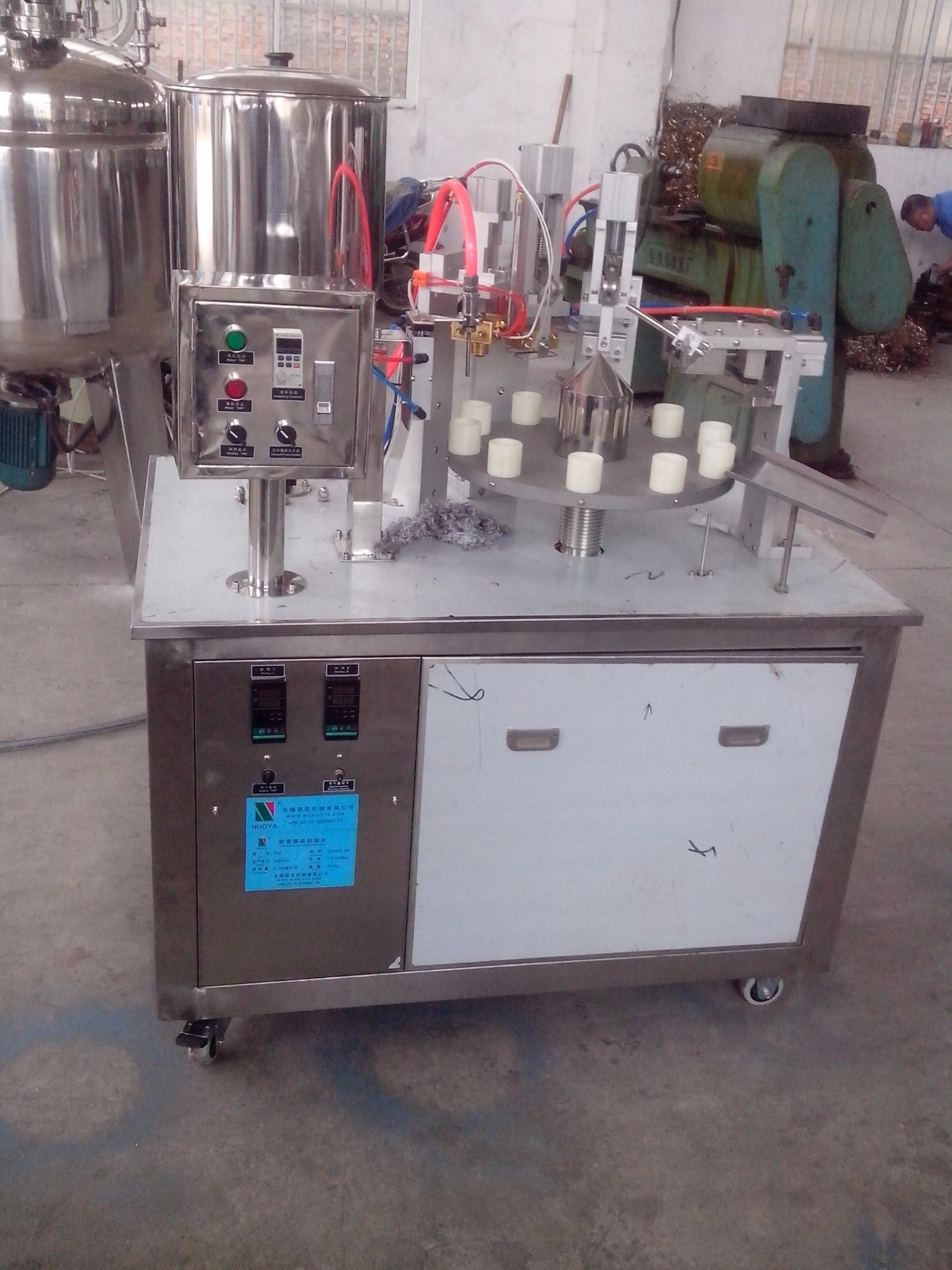 Composite Hose Filling & Sealing Closure Machine (FGF)