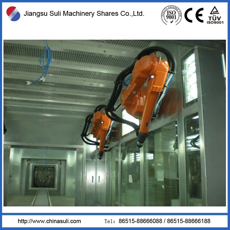 China Suli Painting Robot Automatic Spray Coating Line