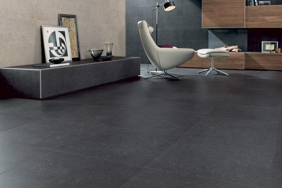 Black Color Classic Bluestone Glazed Porcelain Tiles 600X600mm (DT06)