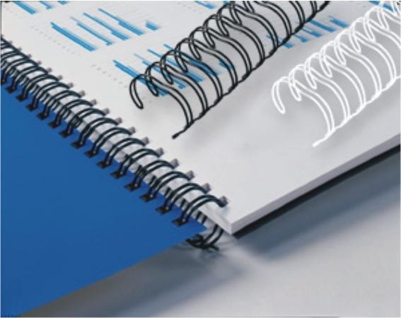 Document Book Binding Double Loop Wire
