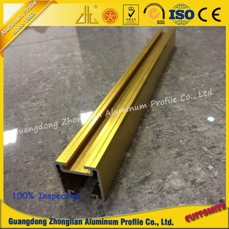 OEM Customized Aluminium Profile Guide Rail for Furniture or Decoration