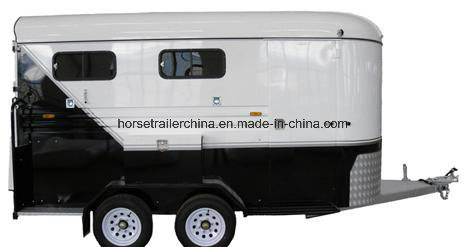 Comfortable Travel Horse Trailer/Horse Floats Slant Load