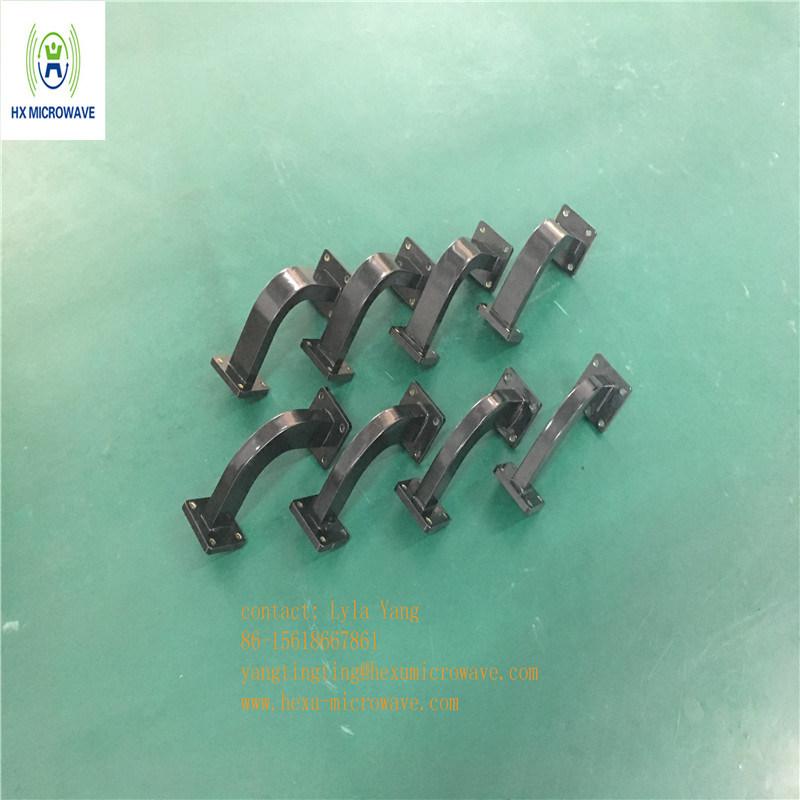 Hexu Microwave Antenna Feed System Ku Band Wr75 Bend Waveguide