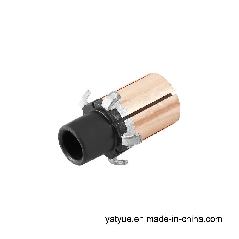 Manufacturers Selling High Quality Micro Motor Parts Hook Commutator