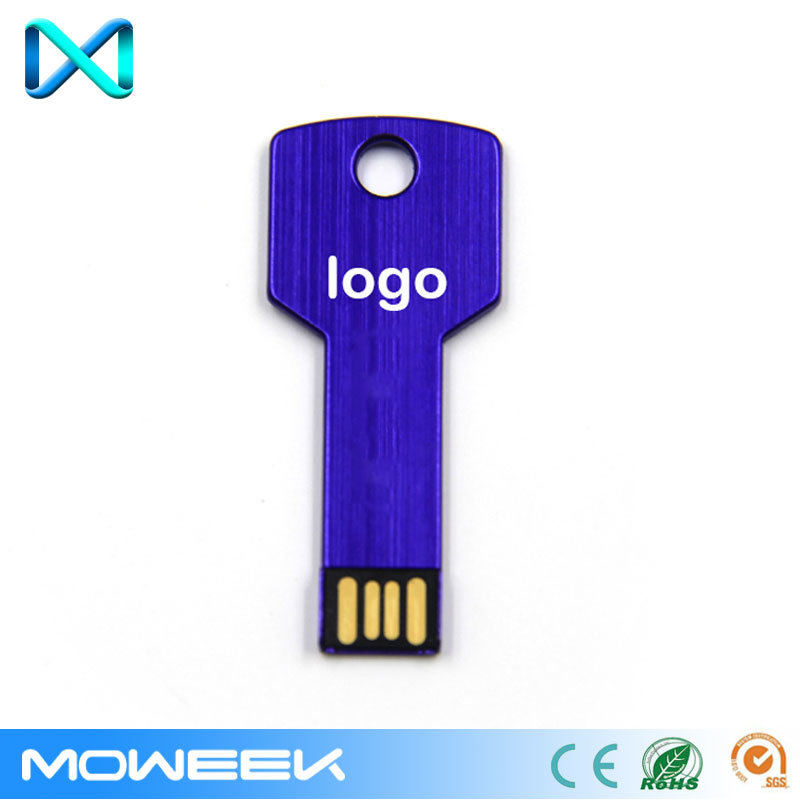Customized Aluminum Gift Memory Key USB Flash Drive