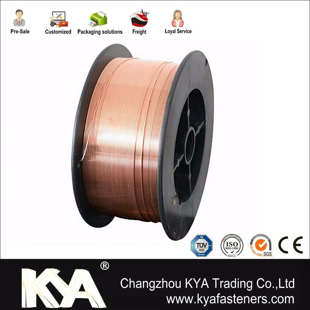 0.8mm/1.0mm/1.2mm/1.6mm CO2 MIG Wire/ Er70s-6 Welding Wire