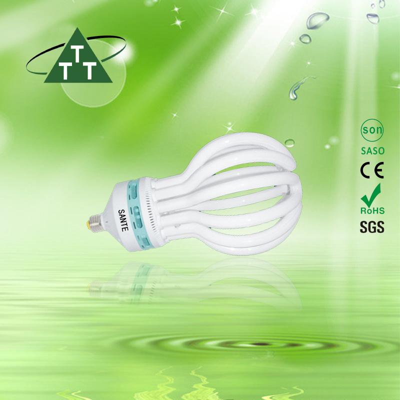 Energy Saving Lamp 200W Lotus 6u Halogen/Mixed/Tri-Color 2700k-7500k E27/B22 220-240V