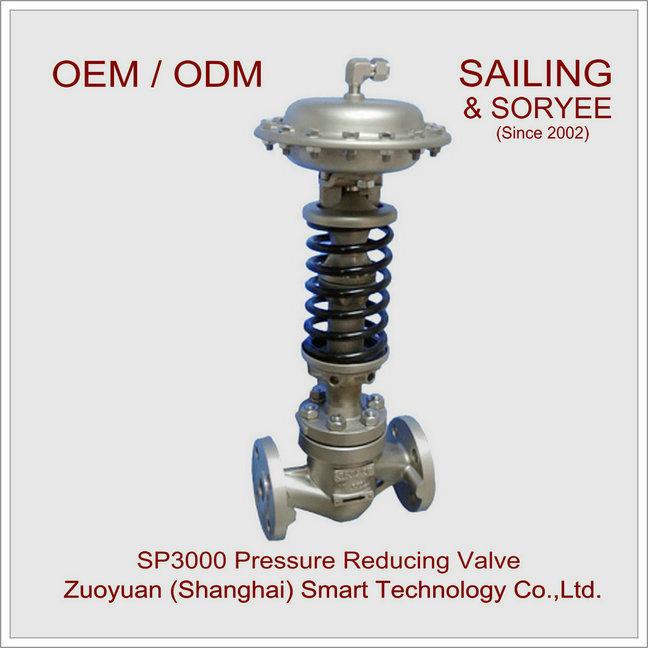 "1"" Sp3000 Water Gas Steam Pressure Reducing Control Valve"