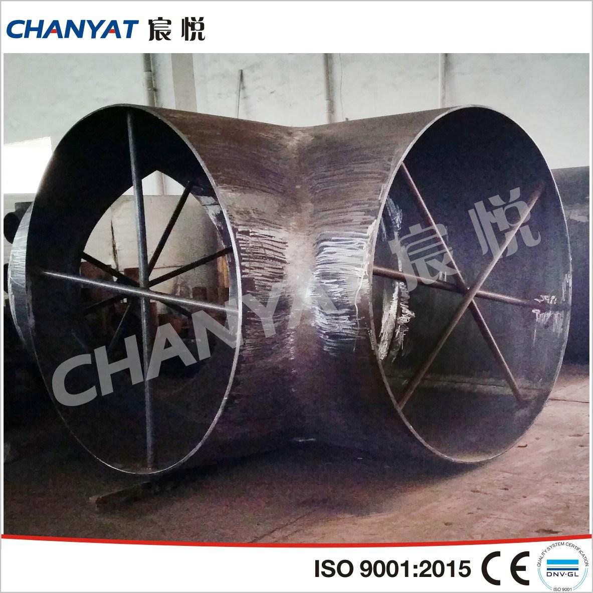 A420 Wpl3, Wpl6, Wpl9 Bw-Fitting Steel Welded Tee