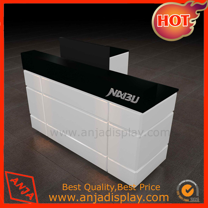 Wooden Counter Table Checkout Desk for Store