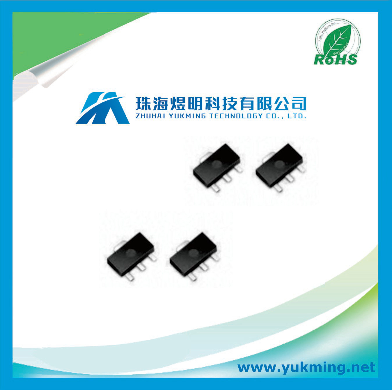 Electronic Component NPN Medium Power Transistor Bcx56-16