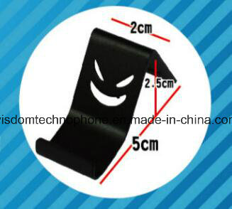Mobile Phone Metal Stand, The Devil Smile Holder, Creative Smile Face Holder Stent