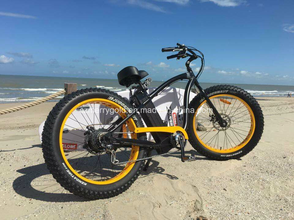 Powerful 48V 500W 1000W Fat Tire Electric Bike Ebike Bicycle